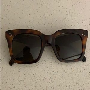 Céline Tortoise Sunglasses